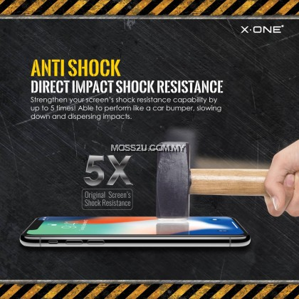 Oppo R9 Plus / R9S Plus / R15 Pro / R17 Pro X-One Extreme Shock Eliminator ( 3rd Generation ) Clear Screen Protector